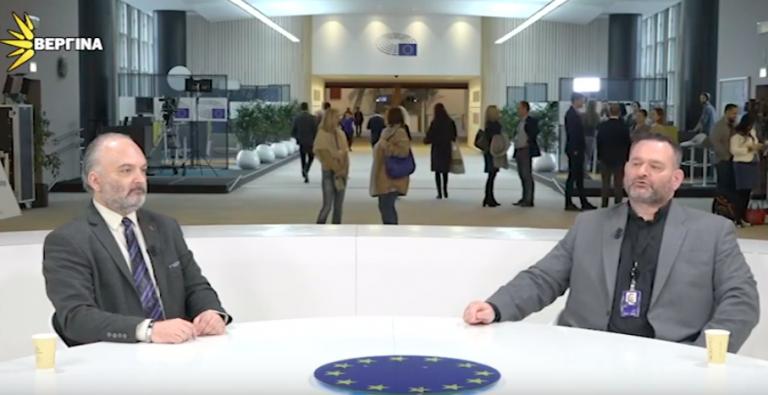 Γ. Λαγός στην Βεργίνα Τηλεόραση: Δε θα στήσουμε πολιτικές καριέρες εις βάρος της Ελλάδας και της Ορθοδοξίας