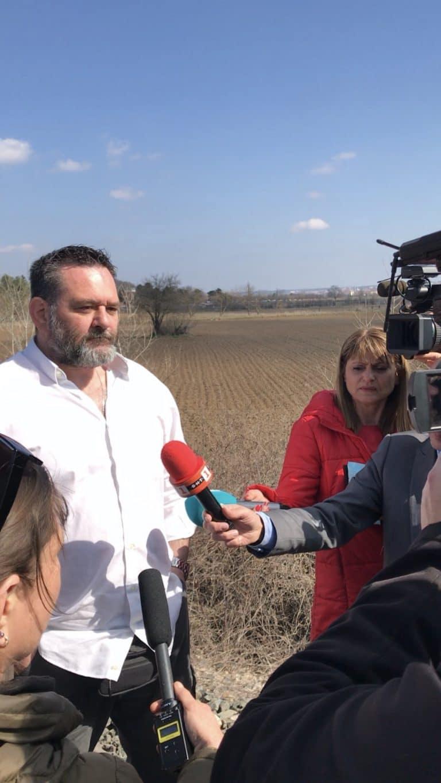 Τεράστιο ενδιαφέρον από τα ΜΜΕ για την παρουσία του Γ. Λαγού στον Έβρο – Βίντεο και Φωτογραφίες