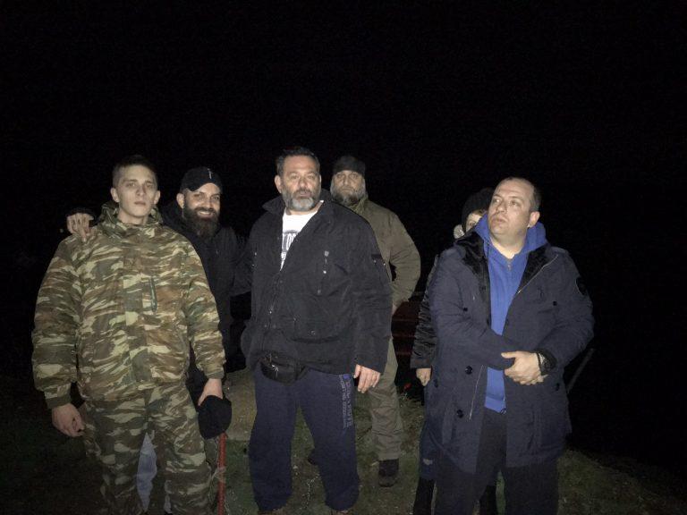 Ioannis Lagos' tour at the Greek-turkish borders