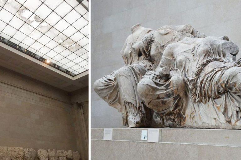 Ερώτηση Γ.Λαγού στην Κομισιόν για τις άθλιες συνθήκες φύλαξης των γλυπτών του Παρθενώνα στο Βρετανικό Μουσείο