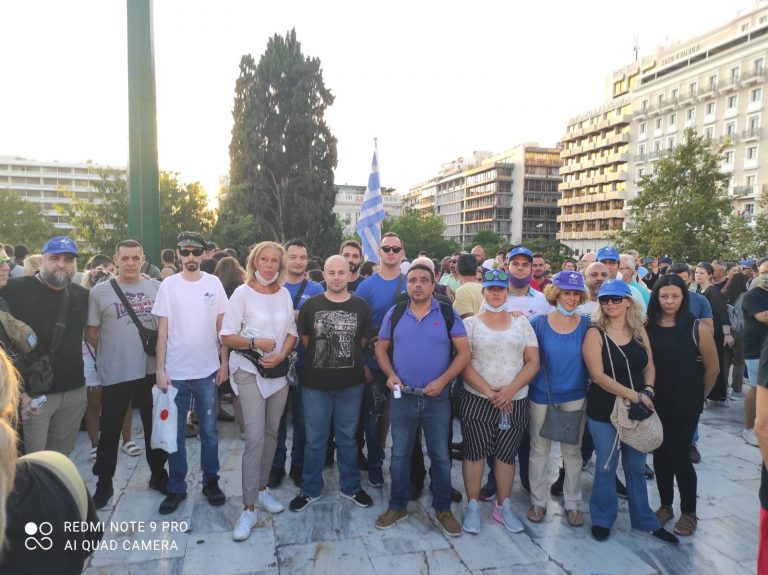 Ε.ΛΑ.ΣΥΝ, πατριωτικός συνασπισμός ΚΥΜΑ Ελληνισμού και ανεξάρτητοι πατριώτες στη μεγάλη συγκέντρωση του Συντάγματος