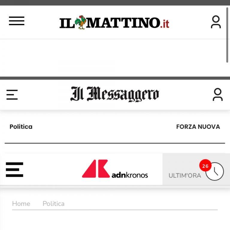 Ο Γ.Λαγός στα ιταλικά ΜΜΕ για τις συλλήψεις Ιταλών εθνικιστών